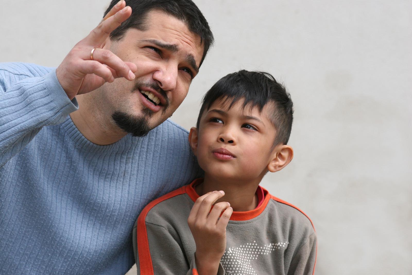 Father-son Talk