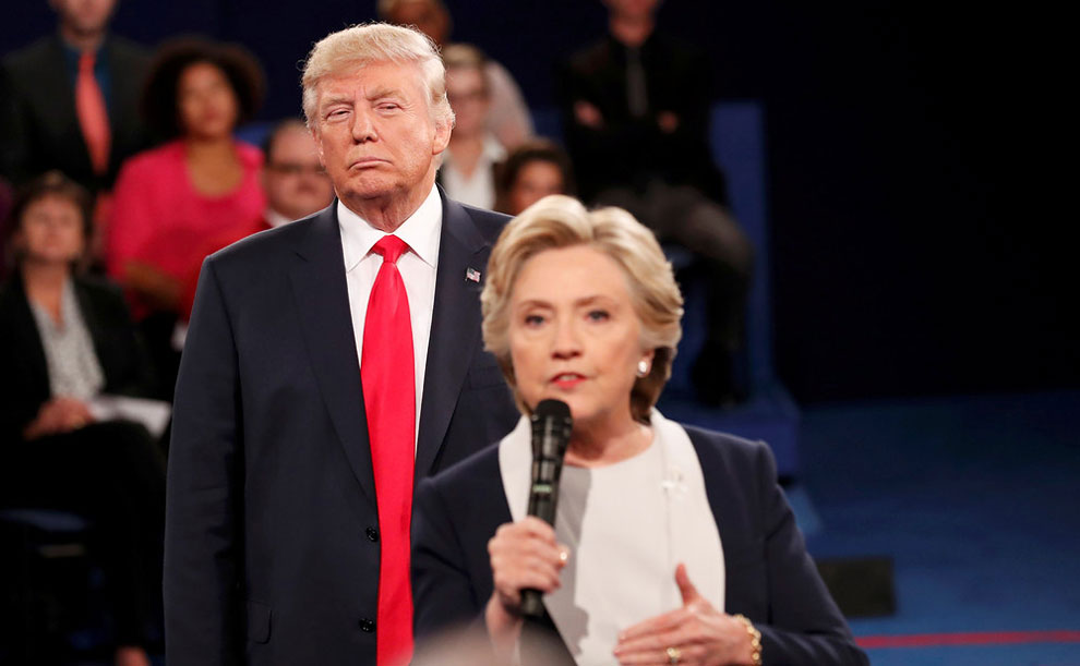 debate at Washington University in St. Louis, Missouri, October 9, 2016