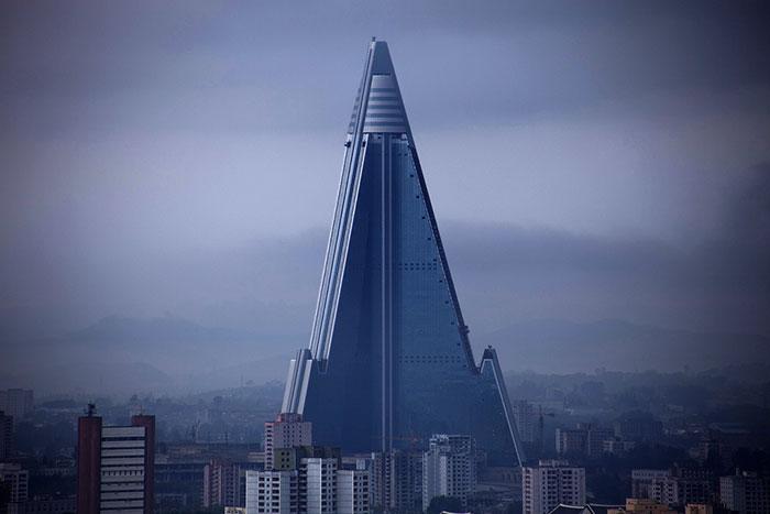 22 Ryugyong Hotel, Pyongyang, North Korea