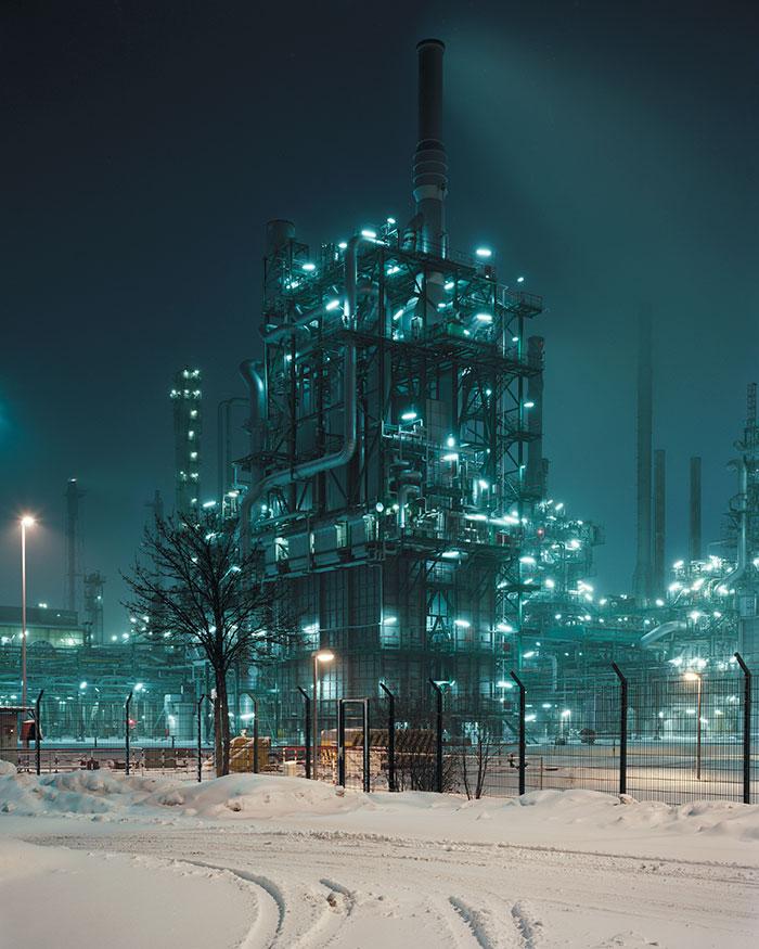 33 Omv Borealis Refinery, On The German:Austrian Frontier