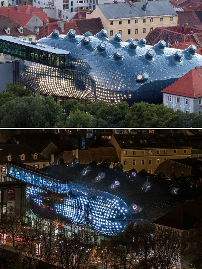 45 Graz Art Museum, Graz, Austria
