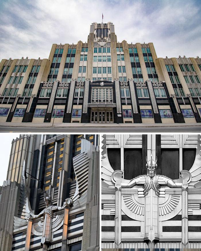 72 Niagara Mohawk Building, Syracuse, New York, USA