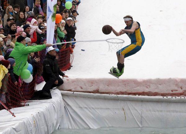 russia snowboard pool
