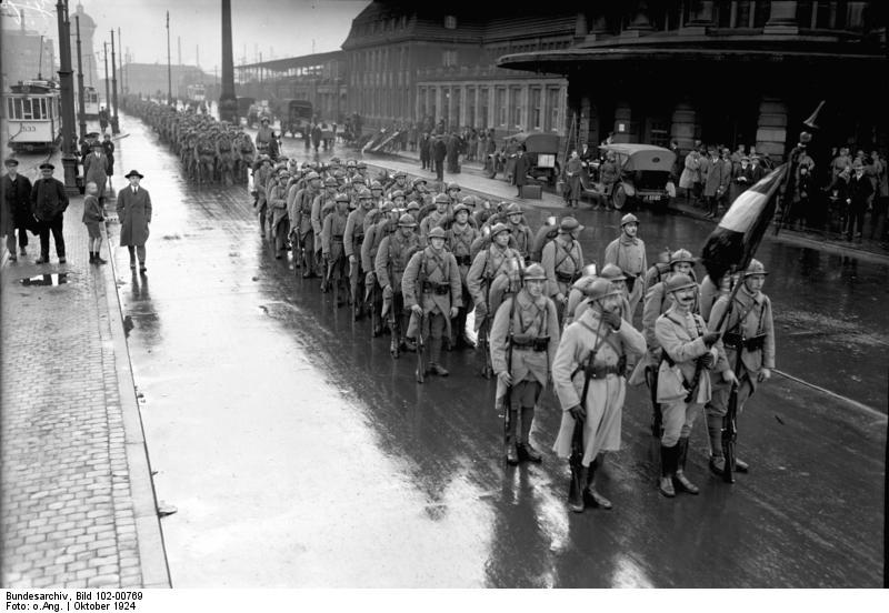 Dortmund, Letzte Franzosen verlassen die Stadt