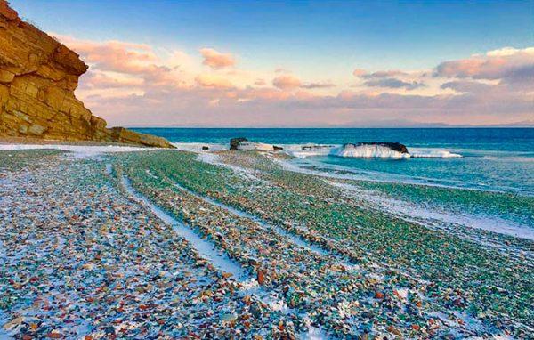 vodka-bottle-pebbles-glass-beach-ussuri-bay-russia-1