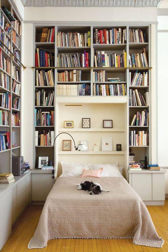 01 yatak odası kitaplık