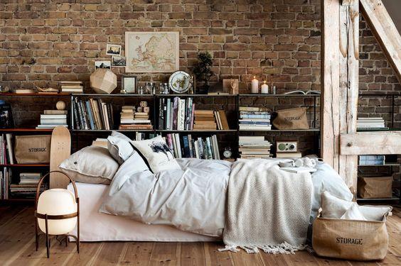 011 yatak odası kitaplık
