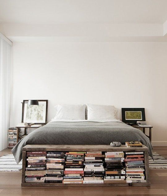 015 yatak odası kitaplık