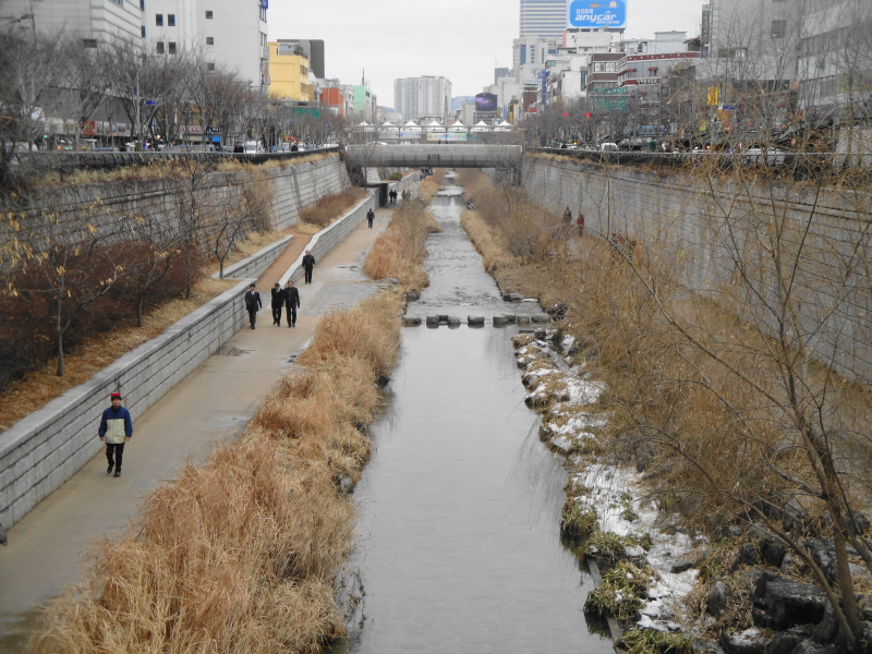 017 Cheonggyecheon