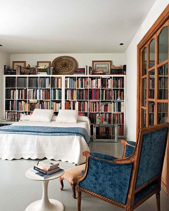 017 yatak odası kitaplık
