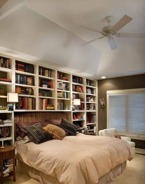 022 yatak odası kitaplık