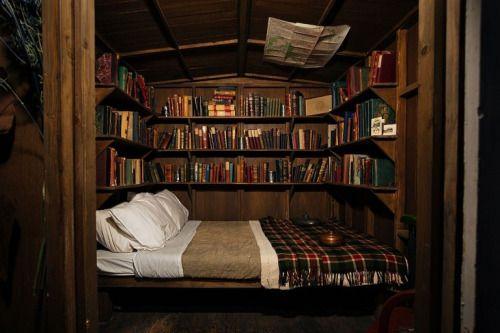 026 yatak odası kitaplık