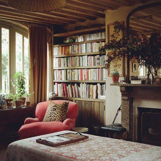 06 yatak odası kitaplık