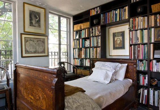 07 yatak odası kitaplık