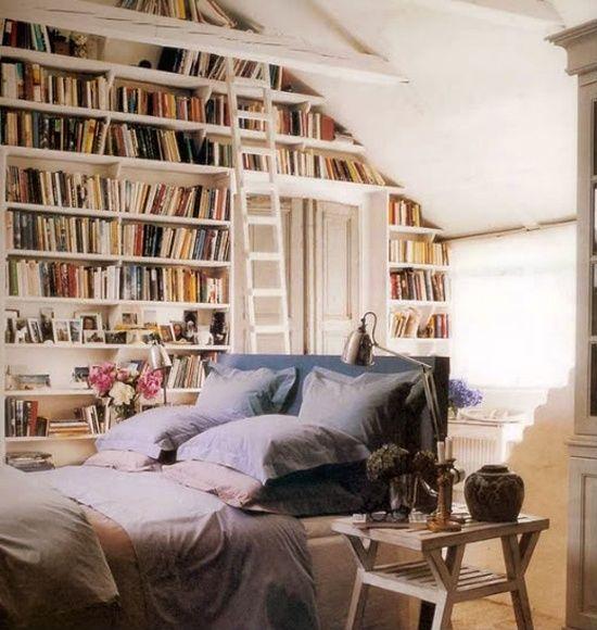 08 yatak odası kitaplık