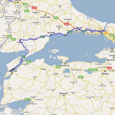 istanbul-canakkale-yol-haritasi