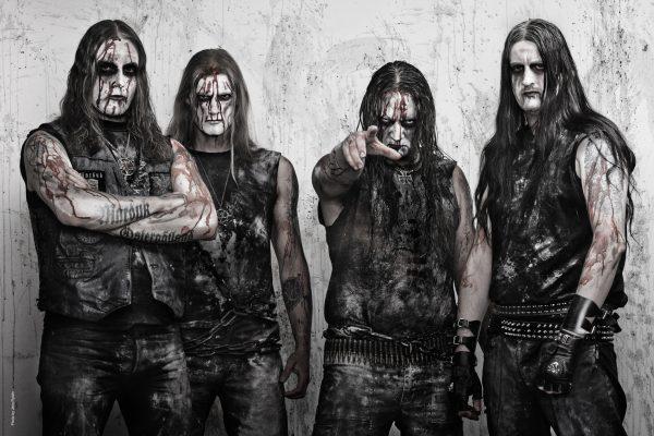 Marduk' march 2012 Left to right: Morgan, Lars, Mortuus, Devo