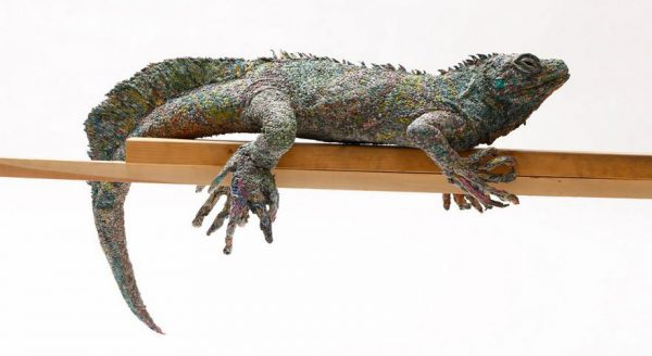 10_rolled-newspaper-animal-sculptures-paper-trails-chie-hitotsuyama-19
