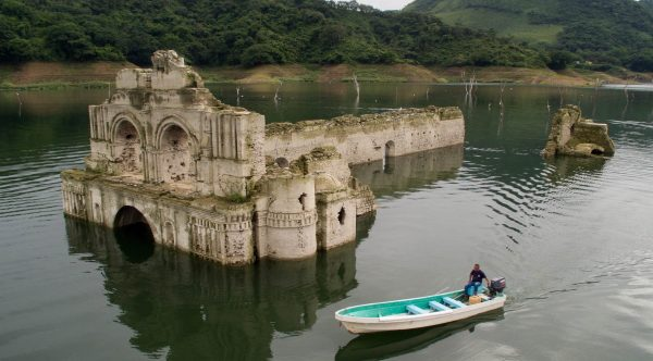 MEXICO-CHURCH-DAM