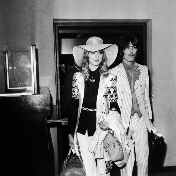 Former-Beatle-George-Harrison-arrived-his-wife-Pattie-Boyd