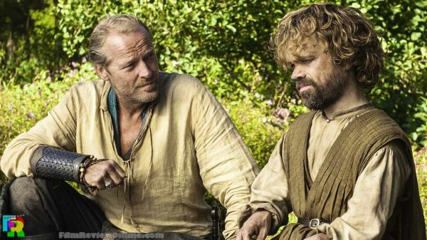 Game of Thrones 506 - Iain Glen and Peter Dinklage
