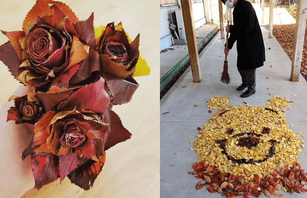 Sonbahar çalışması: özel bir çalışma yarat