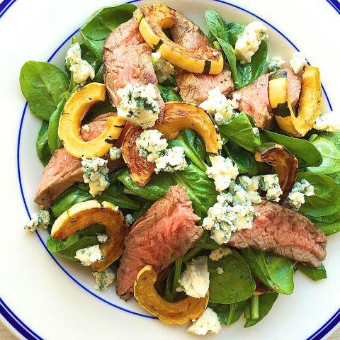gallery-1443631171-weeknight-dinner-steak-salad