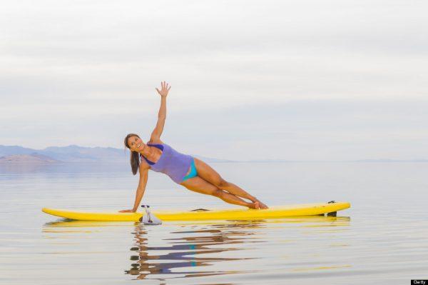 sörf tahtası yoga