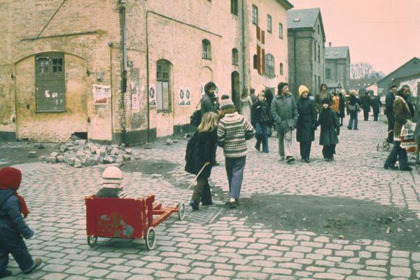 Marginal District, Christiana Nordisk At Copenhagen In Denmark On 1976