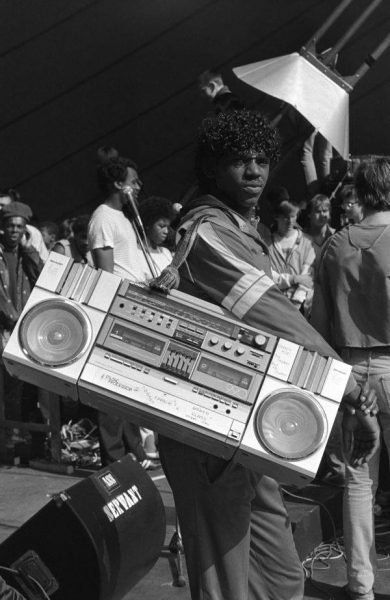 1-boombox-with-homemade-strap