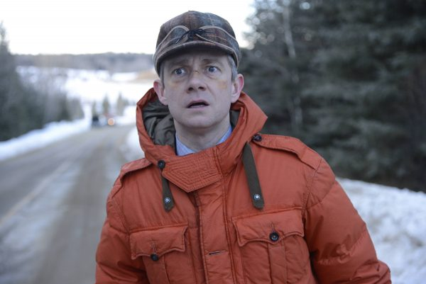 """FARGO """"Eating the Blame"""" -- Episode 104 -- Airs Tuesday, May 6, 10:00 pm e/p) -- Pictured: Martin Freeman as Lester Nygaard -- CR: Chris Large/FX"""
