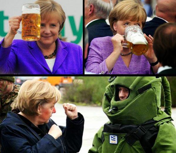 merkel diplomacy