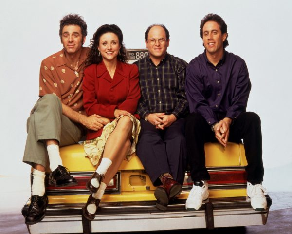 ÒSeinfeld: Season 7Ó (Sony, 24 episodes, four discs, $49.95) has, among others, ÒThe Maestro,Ó ÒThe Sponge,Ó ÒThe Soup NaziÓ and ÒThe InvitationsÓ (that is, the unfortunate stamp-licking end of George's fiancee Susan).(Handout/MCT)
