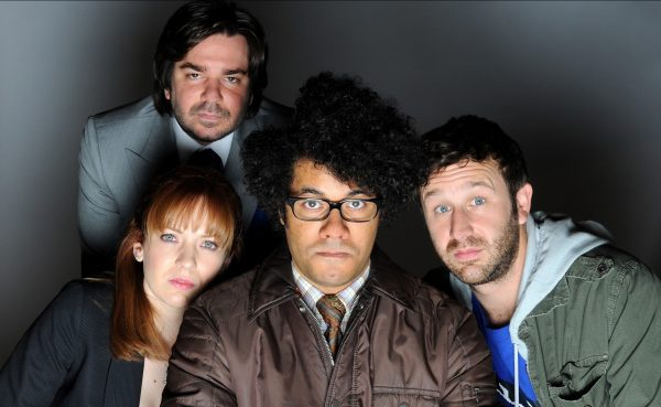 Television Programme: 'THE IT CROWD' (2007) WITH MATT BERRY, KAT