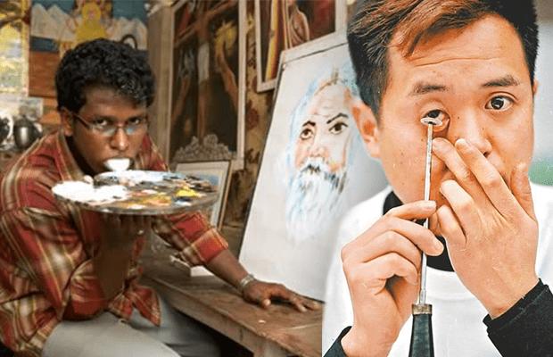 Alışılmadık Teknikleriyle Resim Yapan 10 çok Acayip Ressam