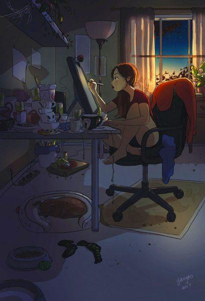 happiness-living-alone-illustrations-yaoyao-ma-van-as-68-5991a9cbab331__700