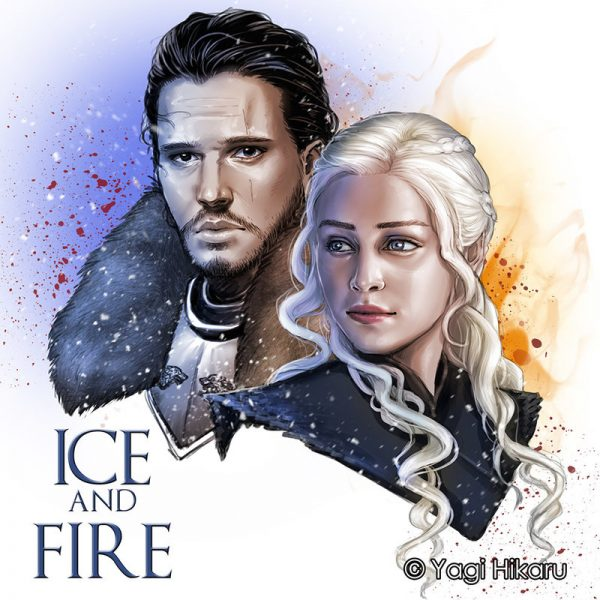 the_king_in_the_north_and_the_dragon_queen_by_yagihikaru-dbhuhjv