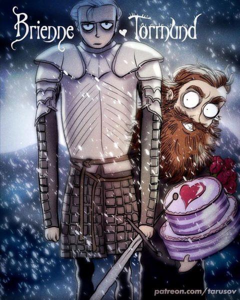 1-Brienne & Tormund