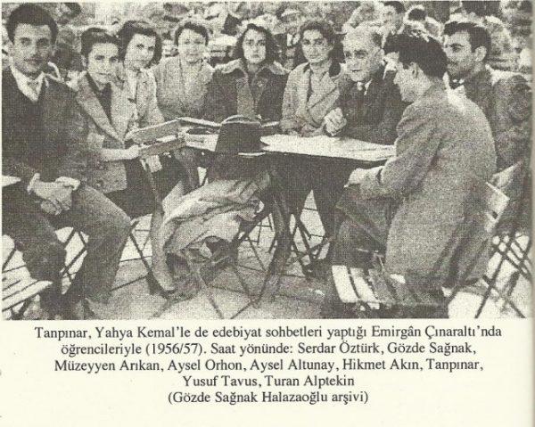 13. Beş Şehir adlı kitabımı Yahya Kemal'e ithaf ettim