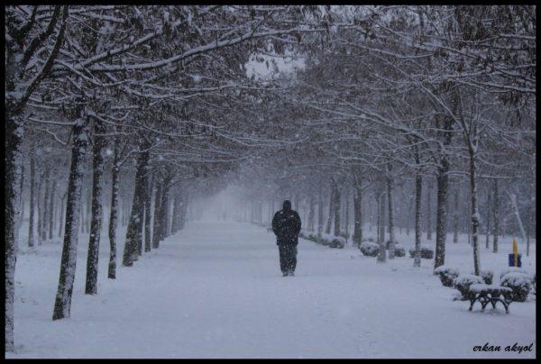 3. Çok karlı bir gündü