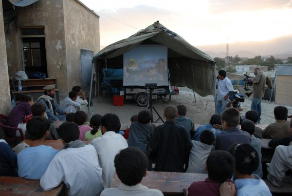 5a.-Afghanistan-watching-film-outdoors-from-eRanger