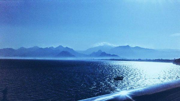 6. Denizin iki manzarası beni çıldırtırdı