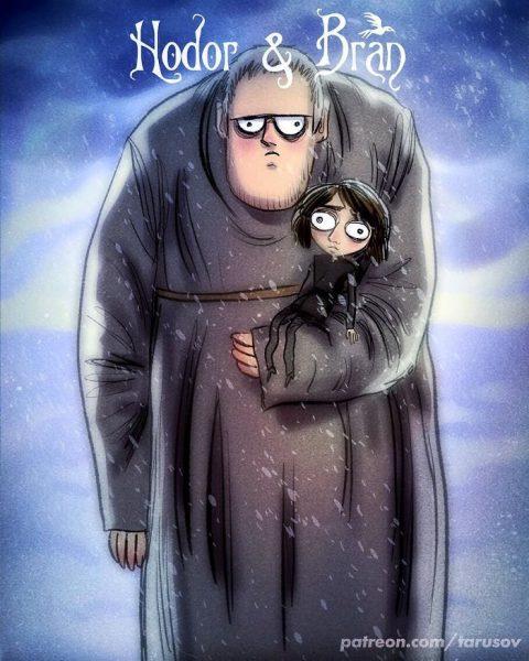 7-Hodor & Bran