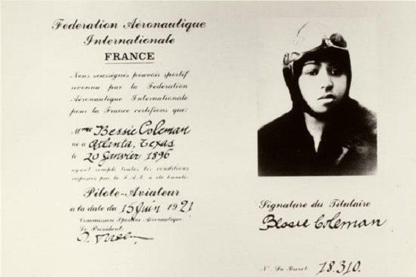 Coleman's pilot license