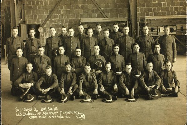 World_War_One_Personnel_Squadron_32_Champaign_Illinois