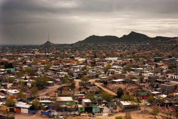A view of one of the impoverished communities in Ciudad Juarez.