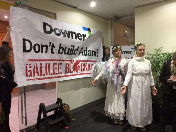 Downer-adani-occupation
