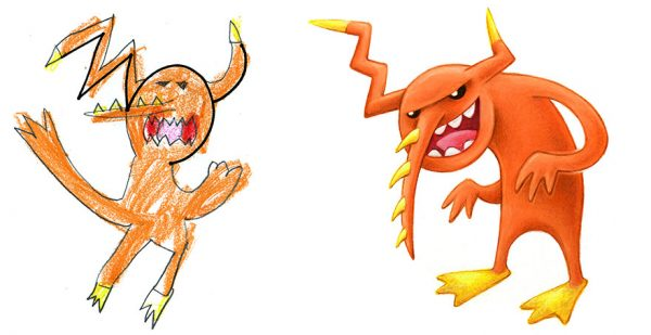 I-spent-the-summer-drawing-150-pieces-of-Monster-Art-based-on-designs-submitted-by-kids-59d1fa2b0ef57__880