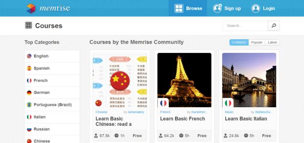 Memrise Dil Öğrenme