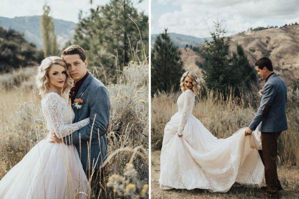 bride-wears-grandmother-old-wedding-1962-dress-penny-jensen-jordyn-cleverly-9